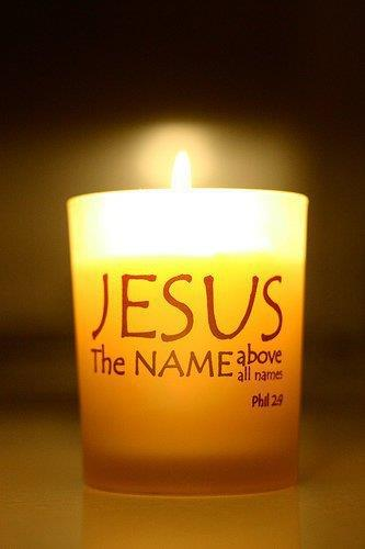 Jesus is The True Light of the world.