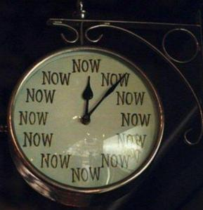 Now Is The Time ...