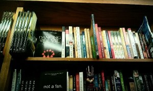 'Dancing with the Devil' is on display next to Jim Raley's book 'Hell's Spells' at a 'Books A Million' store.