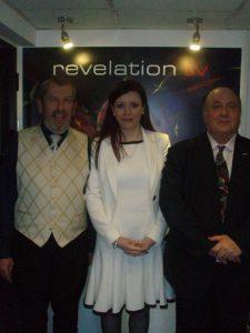 Doug, Laura & Michael, last TV interview together.