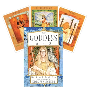 The Goddess Tarot pack that Heather used.