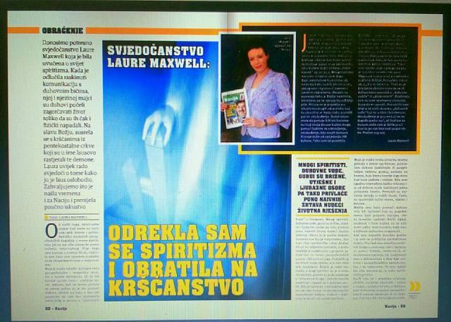 Croatian Catholic magazine 'Nation'.