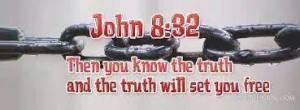 John 8.32