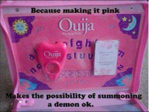 Ouija Boards are sold for children now!