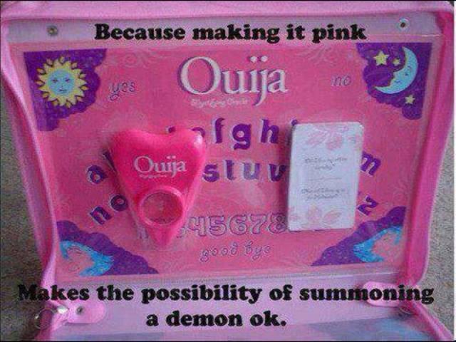 Pink Ouija