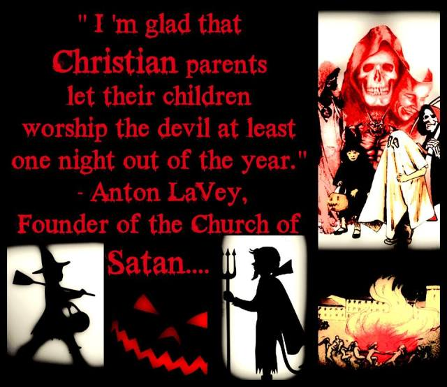 Evil Satan Qoutes: Ex Satanists Steve, Gina And Jeff On Halloween.