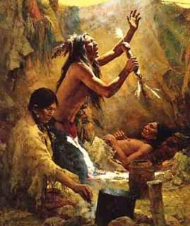 Cheyenne Medicine Man or Shaman