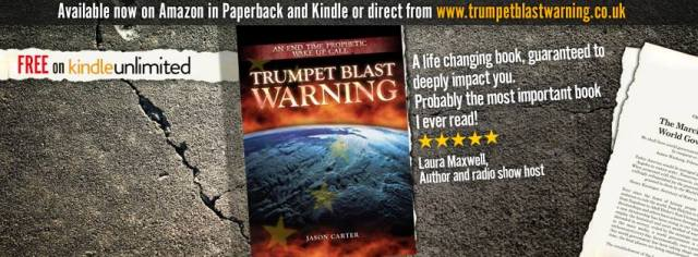 Quote from Laura's review of Trumpet Blast Warning.