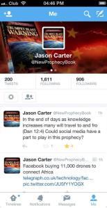 twitter newprophecybook