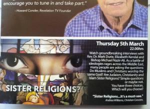 sister religions TV