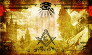 The All Seeing Eye of Horus - Square & Compass