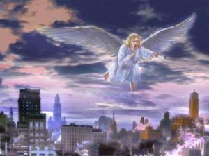 angel over USA
