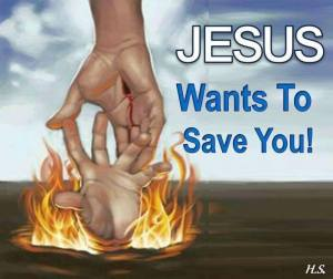 Jesus salvation rescue