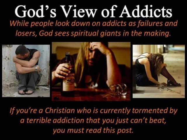 Overcoming Addictions. Nothing is impossible with God.