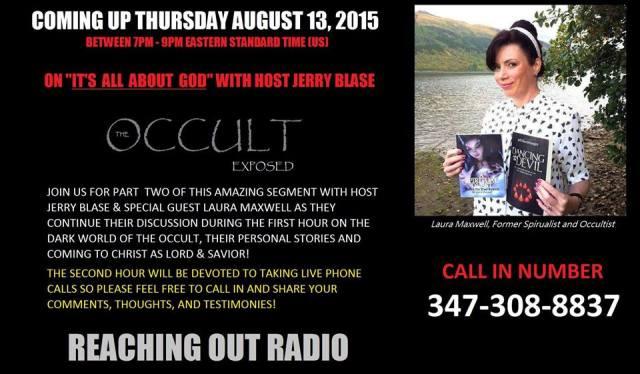 Jerry Blase, Ex Satanist's Radio Show