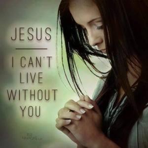 Trust and faith in Jesus