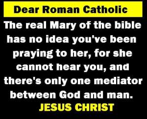 Truth on Virgin Mary and Catholicism