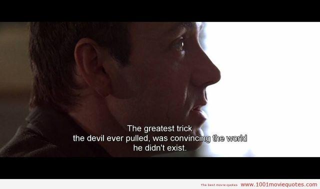 The-Usual-Suspects quote devil satan