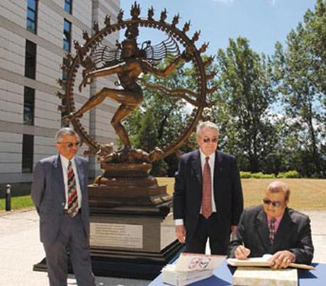 Hindu god Shiva at CERN