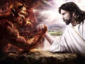 Jesus overcomes