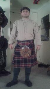 Chris Taylor Kilt