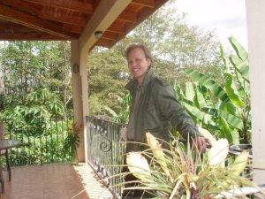 My husband Paul, Costa Rica