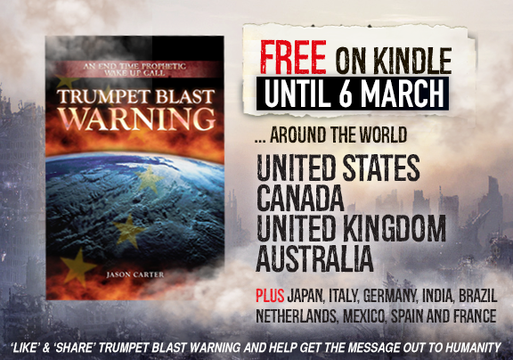 Trumpet Blast Warning FREE offer Kindle