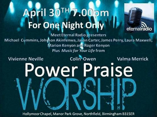 Hollymoor Praise Night
