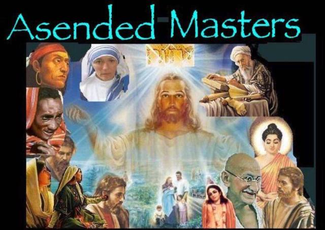new age ascended masters spirit guides