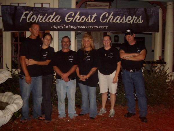 Dana and her Dead Time Paranormal Team 2