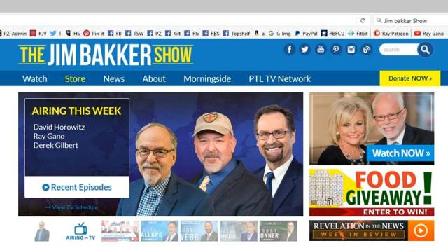 Derek Gilbert and Ray Gano on The Jim Bakker Show