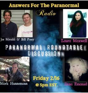 Answers For The Paranormal _ Paranormal Roundtable Show