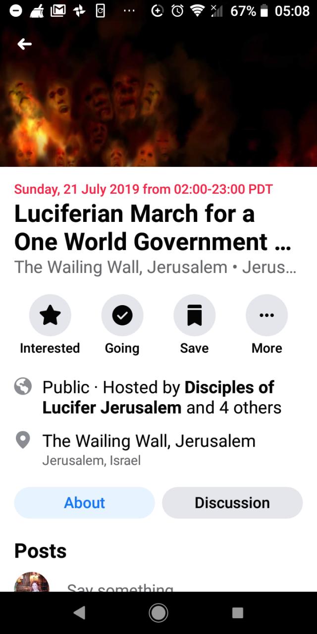 Luciferian NWO March 2
