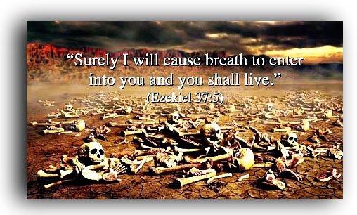 Ezekiel Valley of The Dry Bones Vision