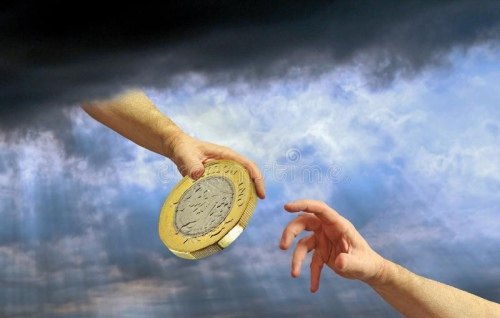 God provision gold coin